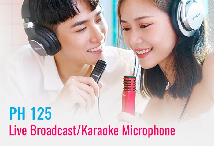 TAKSTAR PH 125 Live Broadcast/Karaoke Microphone Release