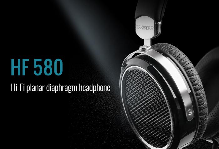 TAKSTAR HF 580 Hi-Fi planar diaphragm headphone