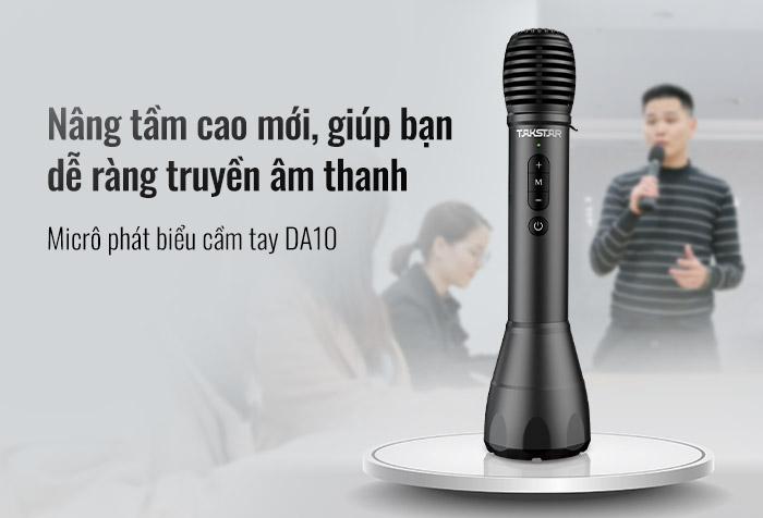Micrô phát biểu cầm tay TAKSTAR DA10 phát hành sản phẩm mới