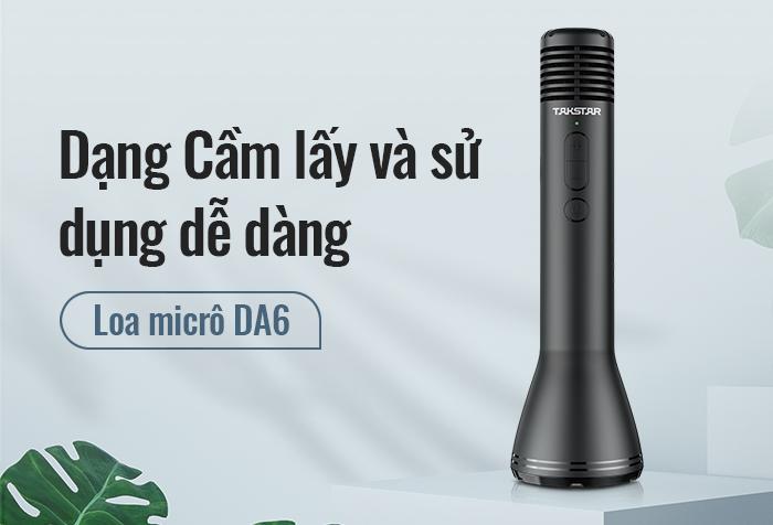Phát hành sản phẩm mới micrô DA6