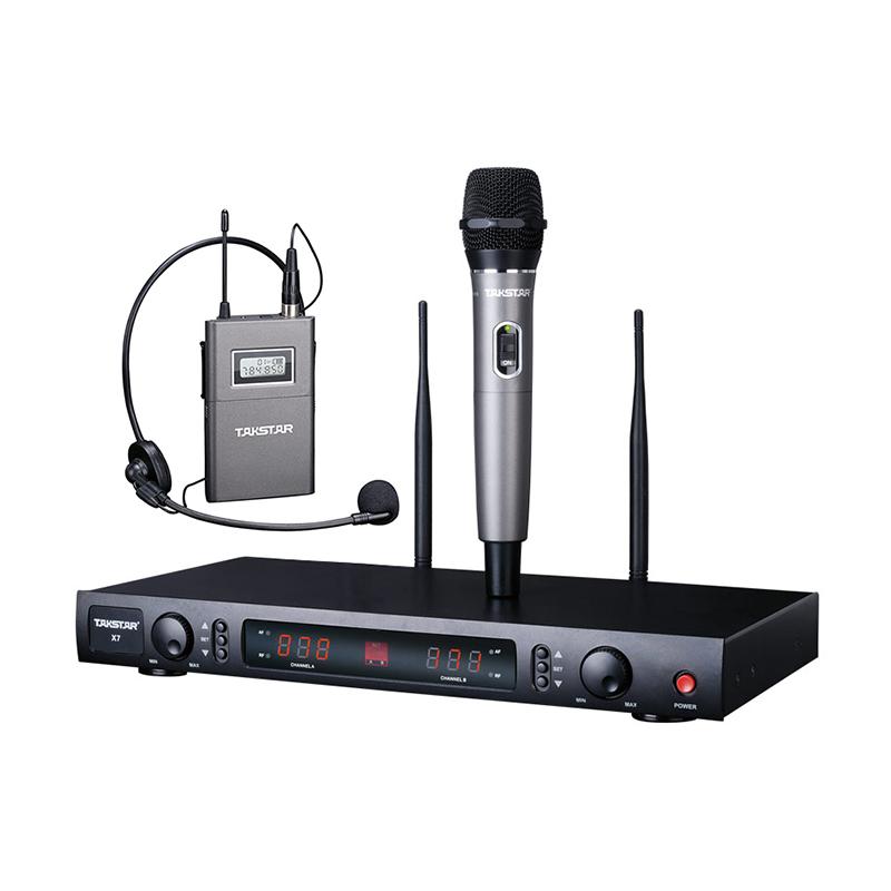 X7 UHF Wireless Microphone