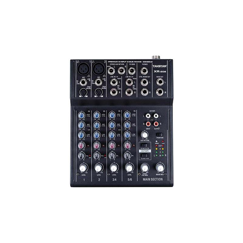 XR-208 Mixer Console