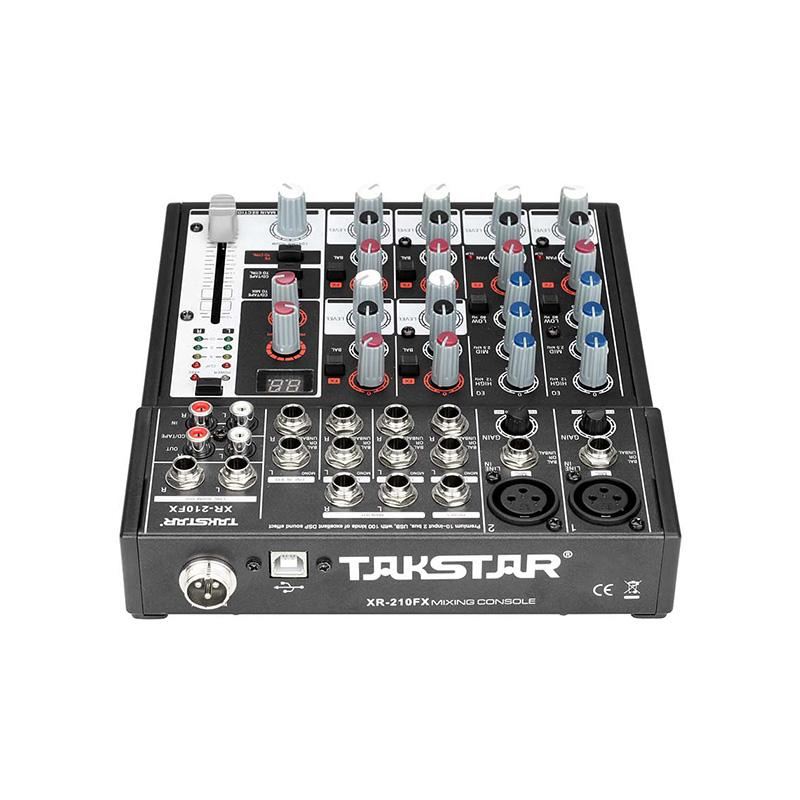 XR-210FX Mixer Console