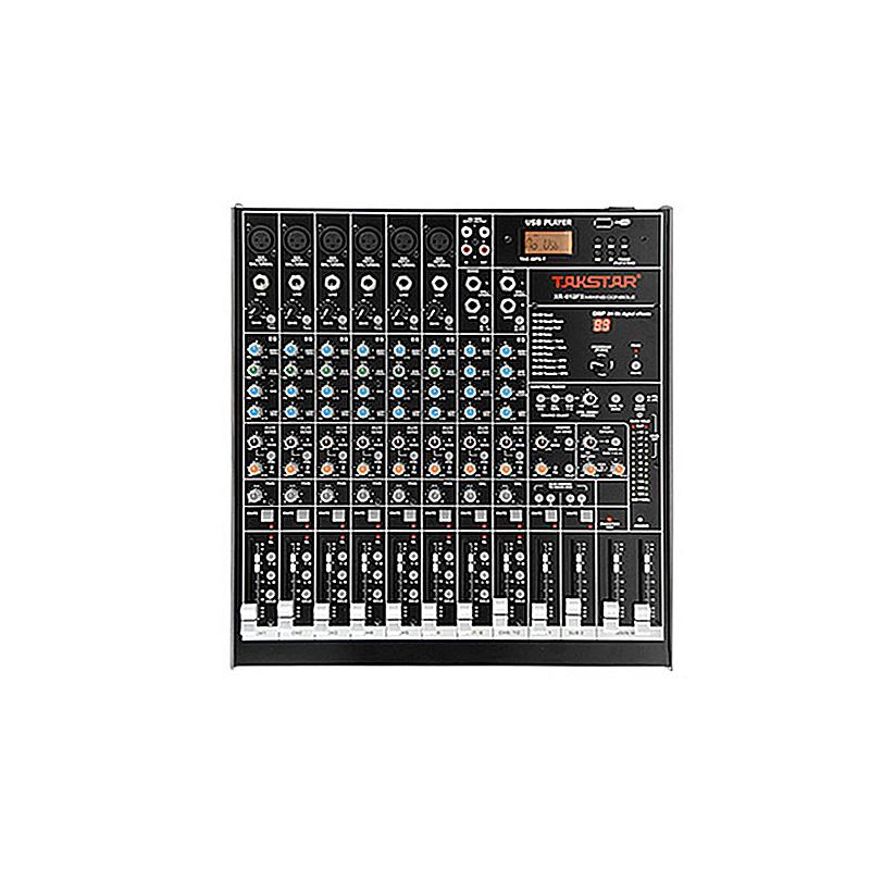 XR-612FX Mixer Console