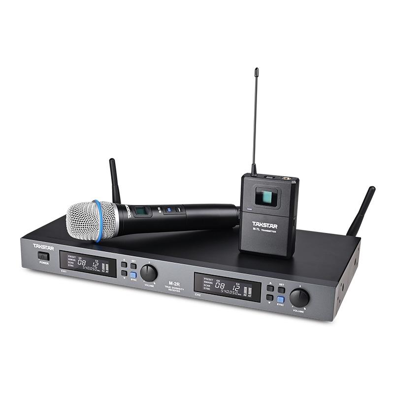 M-2R True Diversity Wireless Microphone